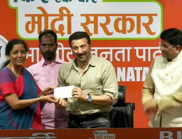 """Actor Sunny Deol joins BJP Today Mentioning that He """"Want Modi Ji for another 5 years"""""""