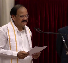 Vice President Congratulates people of India & Election Commission for smooth conduct of Elections