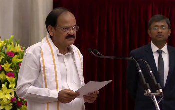 Vice President Congratulates people of India